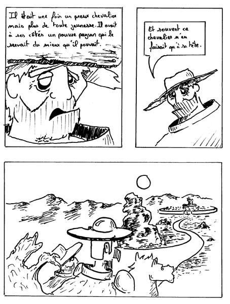 Première page de la BD